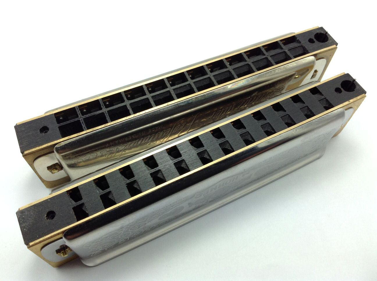 Hohner 270 Power Comb Fronts Sanded Flush