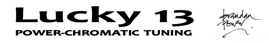 Lucky 13 Logo